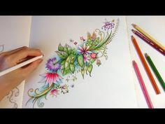 Magical Jungle: Life On Happy Pond | Coloring With Colored Pencils - YouTube
