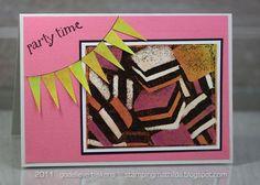 Licorice Allsorts card by Godelieve Tijskens using Darkroom Door Sweet Treats Vol 2 Rubber Stamps. http://www.darkroomdoor.com/rubber-stamp-sets/rubber-stamp-sweet-treats-vol-2