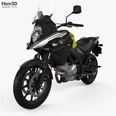 JL Ultimate Suzuki V Strom 1000 2016 Motorbike Art T-shirt