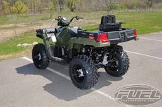 New 2016 Polaris Sportsman X2 570 EPS Sage Green ATVs For Sale in Wisconsin. 2016 Polaris Sportsman X2 570 EPS Sage Green, The Polaris Sportsman X2 with EPS is ready for work and the trail. Versatile! Dump box converts into a 2-Up seat. 2016 Polaris® Sportsman® X2 570 EPS Sage Green Features may include: Hardest Working Features Versatile 1-Up and 2-Up configuration Easily switches from 1-up work and trail mode to 2-up trail mode in less than 10 seconds. VersaTrac Turf Mode Locking…