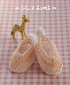 hairpin lace crochet baby shoes
