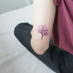 Cherry blossom - mini tattoo: