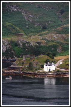Loch Carron, Highland, Scotland Copyright: Roger Godet - North Strome