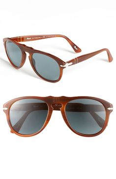 Persol 54mm Polarized Keyhole Retro Sunglasses available at #Nordstrom