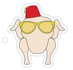 Amigos – pollo • Also buy this artwork on stickers, apparel, phone cases y more.