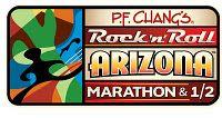 Rock 'n' Roll Arizona Half Marathon. Completed in 2010