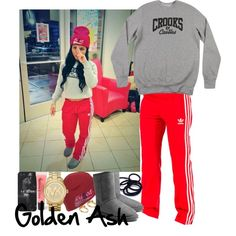Ya Bish UGG Crooks & Castles, created by fashionsetstyler on Polyvore