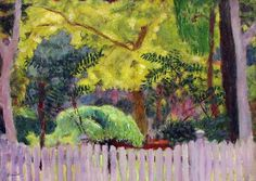 ALONGTIMEALONE: bofransson: Pierre Bonnard - The Violet Fence