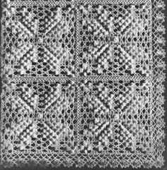 Colonial Star Bedspread Crochet Pattern - KarensVariety.com