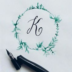 K #calligrafikas