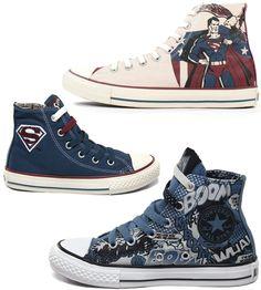 Converse DC superheros