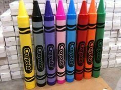 Giant Crayola Crayons