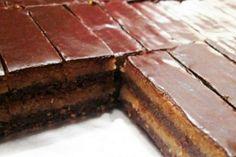 Recept na jednoduché čokoládové řezy No Bake Cake, Cheesecake, Food And Drink, Chocolate, Baking, Ale, Sweet, Desserts, Crafts