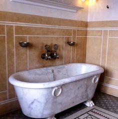 Antique Bathtub, Clawfoot Bathtub, Bathroom Inspiration, Interior Design, Antiques, Villa, Nest Design, Antiquities, Antique