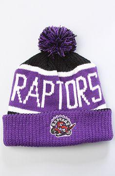 83d0008fedf ... Mitchell & Ness Crack Pattern Cuffed Knit Hat – Gray. See more. 47  Brand Hats The Toronto Raptors Calgary Pom Beanie in Purple Black Ovo  Toronto, ...