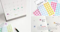 Con las pegatinas translúcidas de Dailylike podrás tener una agenda organizada y con un estilo muy cool.