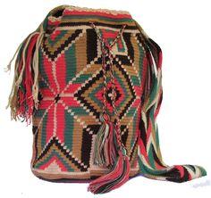 www.mochilaswayuu... www.facebook.com/Wayuuuuuu www.etsy.com/... ASK FOR OUR WHOLESALE PRICES whatsapp :+57 3203459226 $43 USD #wayuu #crochet #handmade #crochet #boho #bohostyle #bohochic #hippie #cartagena #colombia #colombiabags #art #wayuutribe #mochilaswayuu #mochilas#psychedelic#beachbag #Desertbag Tribal Bags, Tapestry Crochet, Psychedelic, Boho Fashion, Boho Chic, Facebook, Handmade, Etsy, Inspiration