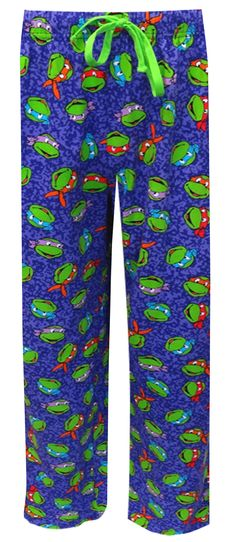 Teenage Mutant Ninja Turtles Purple Lounge Pants These unisex lounge pants feature the Teenage Mutant Ninja Turtle Gang. Who's ...