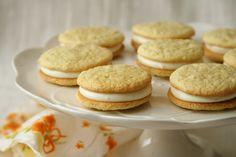 Orange vanilla creamsicle whoopsie pies