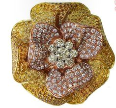 YNY Jewels Diamond Brooch