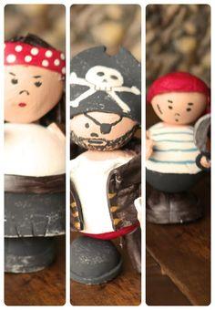 Muñecos piratas #pirates
