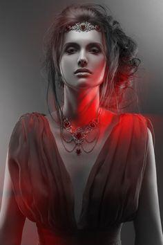 Photographer: Robyn Tenniel Stylist: Sebastien Payen Jewelry: MarKiZ Création Hair: Dean Drown Makeup: Anne Verhague Model: Giedre Tamosiunaite