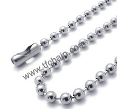 Stainless steel ball chain necklace,dog tag ball chain with connector. #ballchain #beadchain #militarydogtagballchain #militaryballchain #stainlessteelballchain #ballchainnecklace #ballchainspool #beadchainspool  #tfchain #2.4mmballchain #2.0mmballchain Dog Tags Military, Military Ball, Hand Jewelry, Metal Beads, Ball Chain, Different Colors, Craft Ideas, Stainless Steel, Bracelets