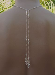 Bridal Lariat and Earrings Lariat Necklace by handmadebydiana