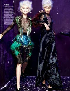Vogue Ukraine September 2013: Gucci