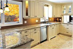White Kitchen Granite Fivedaykitchens