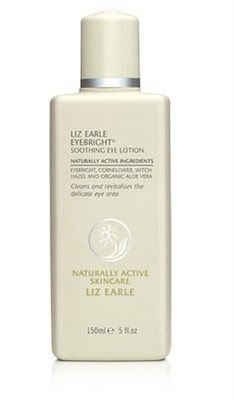 Liz Earle Eyebright Soothing Eye Lotion - Soothes, brightens and de-puffs tired eyes.    See more scent, style and skin at http://www.theblossomshed.blogspot.com