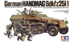 Tamiya - 35020 - Maquette militaire / military model kit- Hanomag 251 half-track - 1/35
