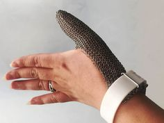 Stainless Steel Mesh Glove And Wrister Stainless Steel Mesh, Metal Mesh, Chain Mail, Gloves, Bracelets, Jewelry, Jewlery, Metal Trellis, Chain Letter