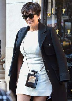 Kris Jenner - Chanel No. Chanel Mini, Chanel Classic Flap, Chanel Wallet, Chanel Boy Bag, Chanel Reissue, Chanel Perfume, Chanel Shoulder Bag, Female Profile, Chanel Logo