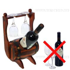 Подставка для бутылки и 2-х бокалов для вина Wood Projects, Woodworking Projects, Wine Bottle Glasses, Wine Caddy, Wine Cellar Design, Wine Glass Holder, Wooden Ship, Furniture Legs, Bars For Home