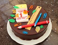 16 Birthday Cake, 16th Birthday, Teacher Cakes, Cake Business, Retirement Parties, Fondant, Sweets, Baking, Desserts