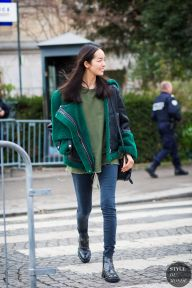 Haute Couture Spring 2016 Street Style: Fei Fei Sun