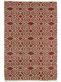 Kenwood Beige/Red Area Rug   Wayfair