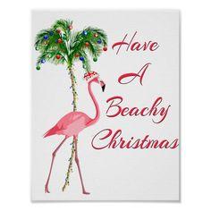 Boxed Christmas Cards, Christmas Labels, Christmas Poster, Xmas Cards, Christmas Humor, Christmas Flamingo, Tropical Christmas, Beach Christmas, Pink Christmas