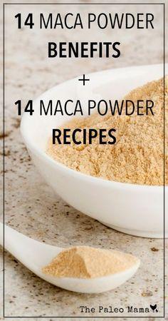 14 Maca Powder Recipes and 14 Maca Benefits   www.thepaleomama.com