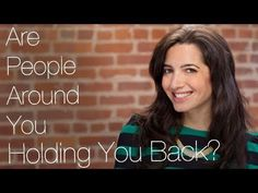 Are people around you holding you back? Watch this vid to learn what to do about it. For even more #business & life advice, come on over to www.marieforleo.com.