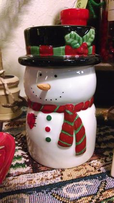 This cute little snowman will hold a tea light for you!
