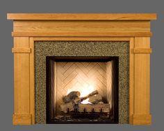 Bridgewater Custom Fireplace Mantel