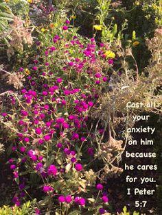 """My Strength: I Peter 5:7-10 - """"Cast My Cares"""""""