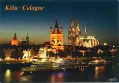 St. Martin's Church and Cologne Cathedral. Köln, Germany ~ Erzuken's little mailbox