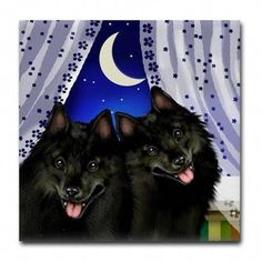 Made to Order Ceramic Tile Coaster Treat yourself or give as a gift to someone special! Product Information: Liven up any room or party and protect your surfaces with our distinctive tile coasters. Outdoor Dog Runs, Schipperke Dog, Dog Rooms, Window Art, Tile Coasters, Room Set, Batman, Ceramics, Handmade Gifts