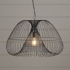 Make a statement with chandeliers and pendant lighting from Crate and Barrel. Browse a variety of styles, sizes, and materials. Order online.