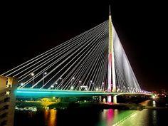 Ada Bridge, Belgrade , Serbia