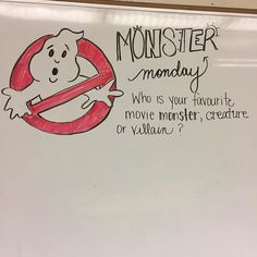 It's Halloween themed spirit week! Classroom Whiteboard, Journal Topics, Journal Prompts, Morning Board, Monday Morning, Morning Activities, Daily Writing Prompts, Bell Work, Responsive Classroom