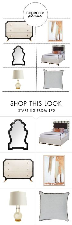 """""""Bedroom Decor"""" by kathykuohome ❤ liked on Polyvore featuring interior, interiors, interior design, home, home decor, interior decorating and bedroom"""